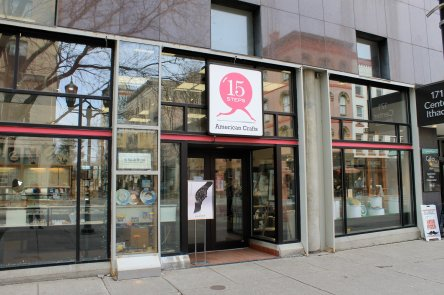 15 STEPS American Crafts is located on the Ithaca Commons