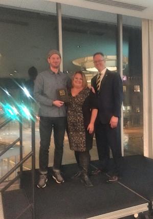 Andrew Douglas w award _Fotor
